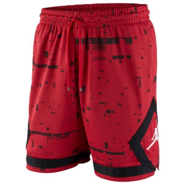 ナイキ ジョーダン メンズ バスケットボール ボトムス・パンツ【Last Shot Diamond Shorts】Red/Black