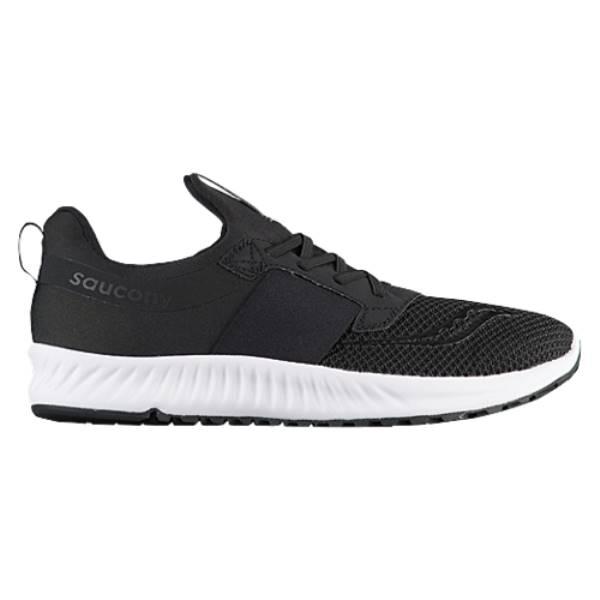 サッカニー メンズ ランニング・ウォーキング シューズ・靴【Stretch & Go Breeze】Black