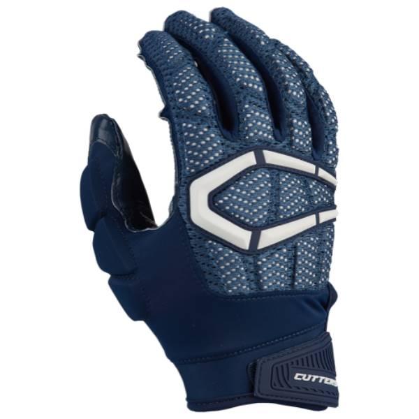カッターズ メンズ アメリカンフットボール グローブ【Gamer 3.0 Padded Football Gloves】Navy