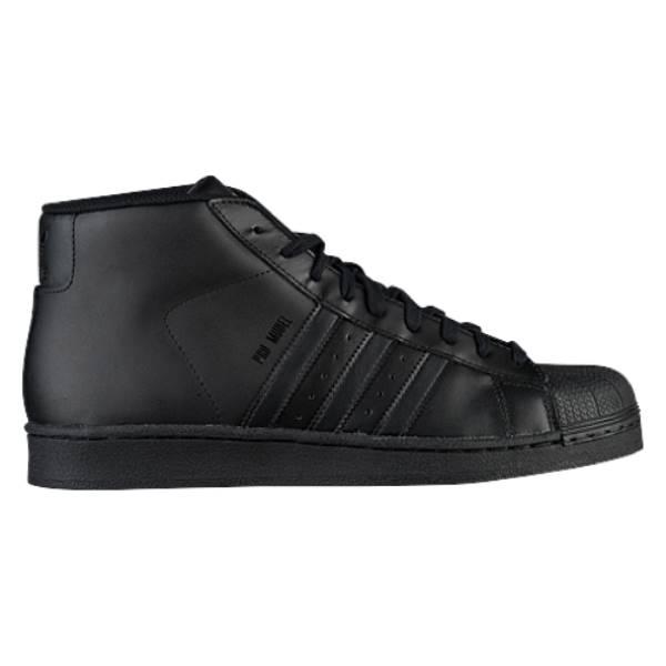 アディダス メンズ バスケットボール シューズ・靴【Pro Model】Black/Black/Black