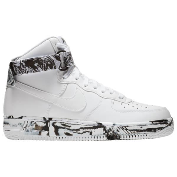 ナイキ メンズ バスケットボール シューズ・靴【Air Force 1 High LV8】White/Black