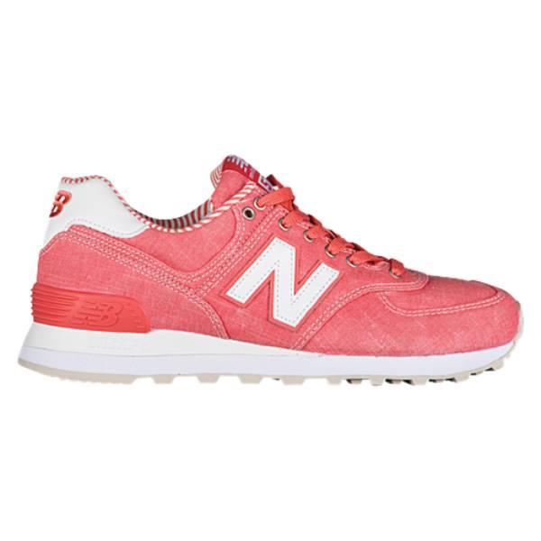 ニューバランス レディース ランニング・ウォーキング シューズ・靴【574 Classic】Spiced Coral/White