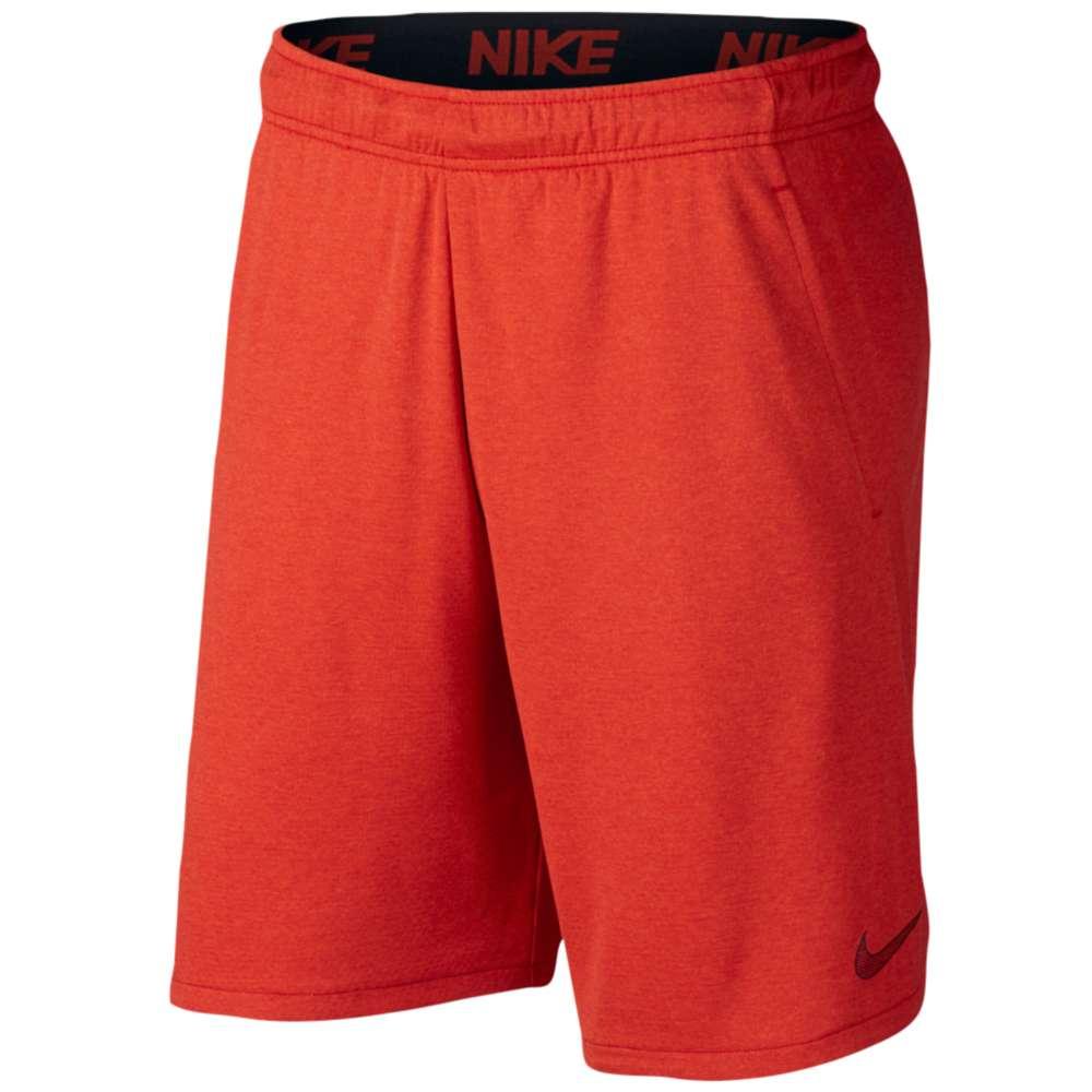 ナイキ メンズ フィットネス・トレーニング ボトムス・パンツ【Veneer Training Shorts】Habanero Red/Black