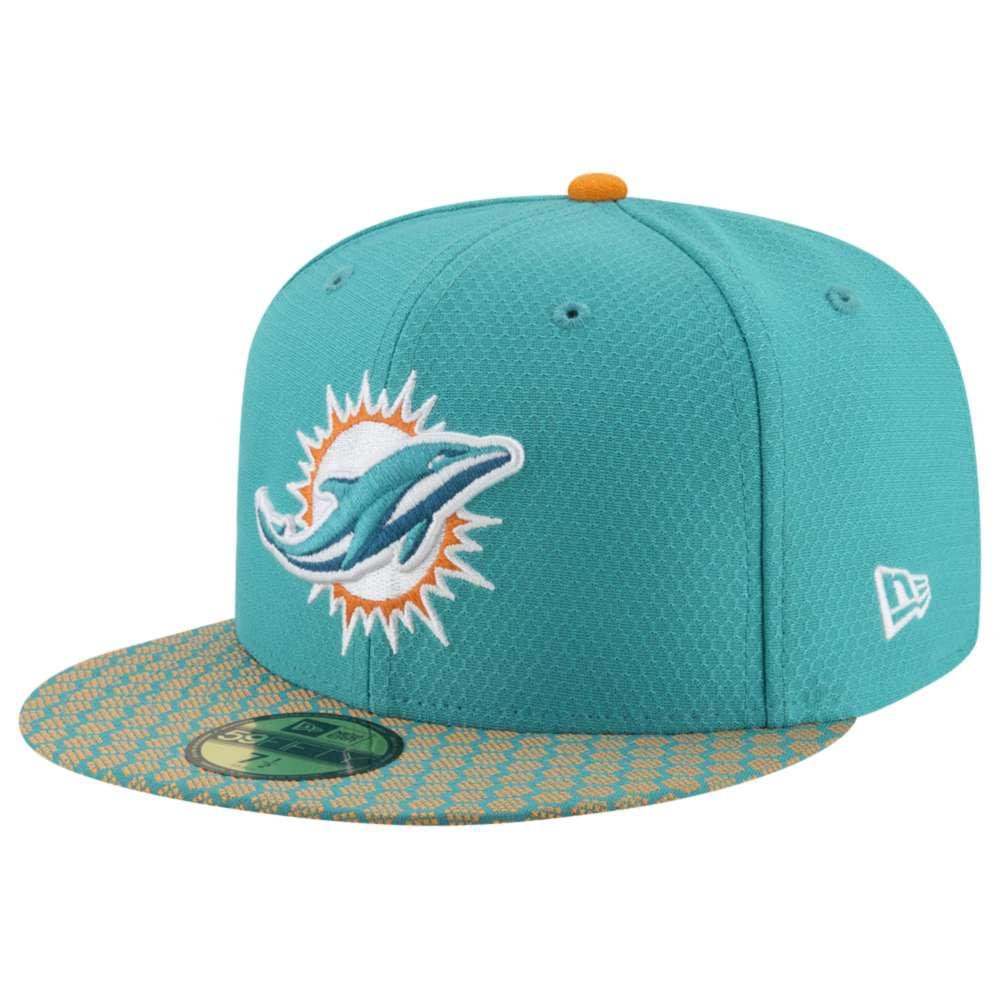 ニューエラ メンズ 帽子 キャップ【NFL 59Fifty Sideline Cap】Turbo Green
