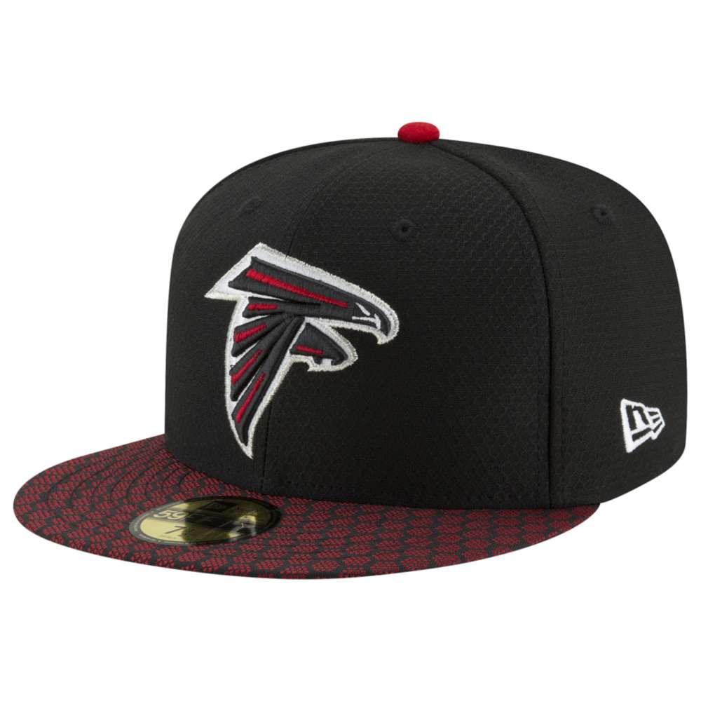 ニューエラ メンズ 帽子 キャップ【NFL 59Fifty Sideline Cap】Black