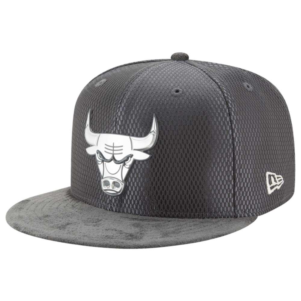 ニューエラ メンズ 帽子 キャップ【NBA 59Fifty On Court Cap】Graphite