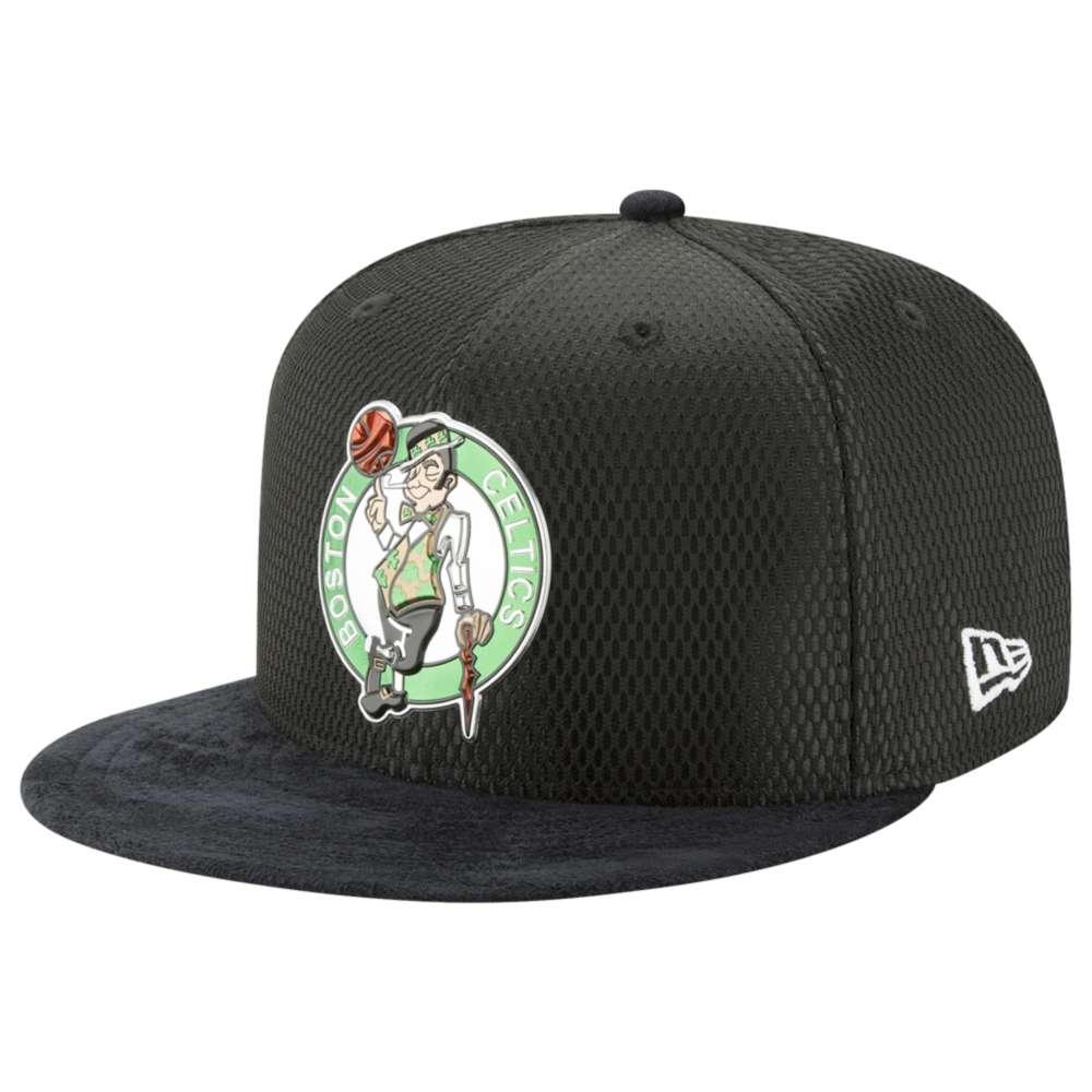 ニューエラ メンズ 帽子 キャップ【NBA 59Fifty On Court Cap】Black