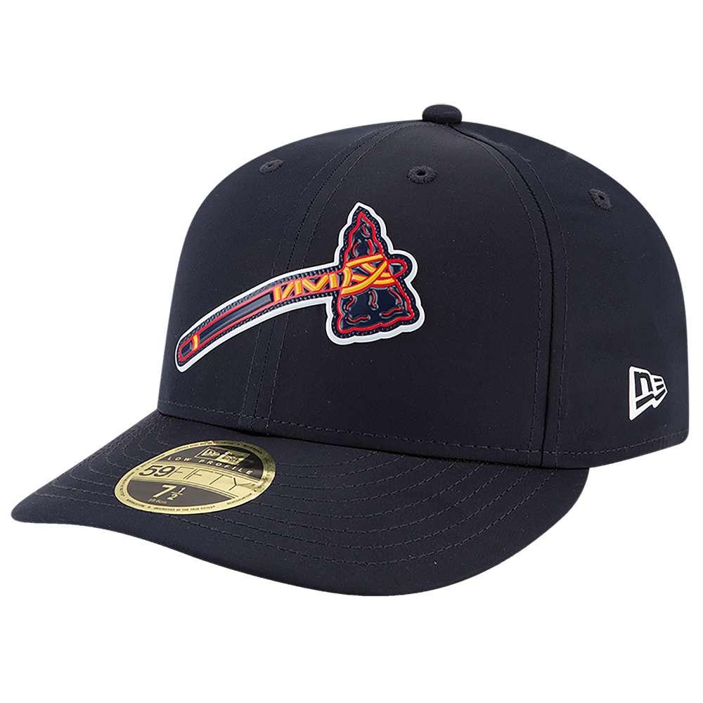 ニューエラ メンズ 帽子 キャップ【MLB 59Fifty AC Batting Practice LP Cap】Navy/Red