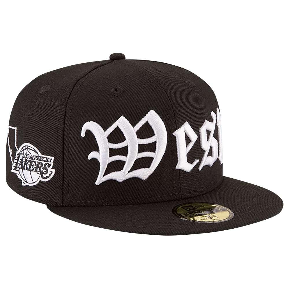ニューエラ メンズ 帽子 キャップ【NBA 59Fifty Cap】Black