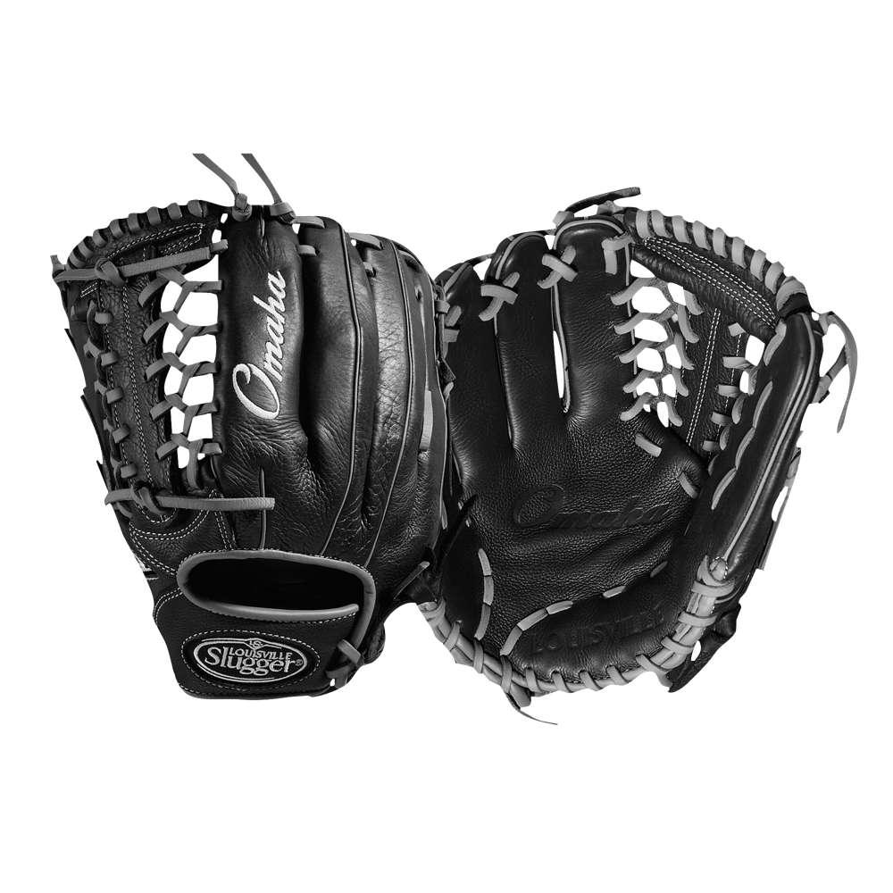 ルイスビルスラッガー メンズ 野球 グローブ【Omaha Pro T Web Fielding Glove】Black/Silver