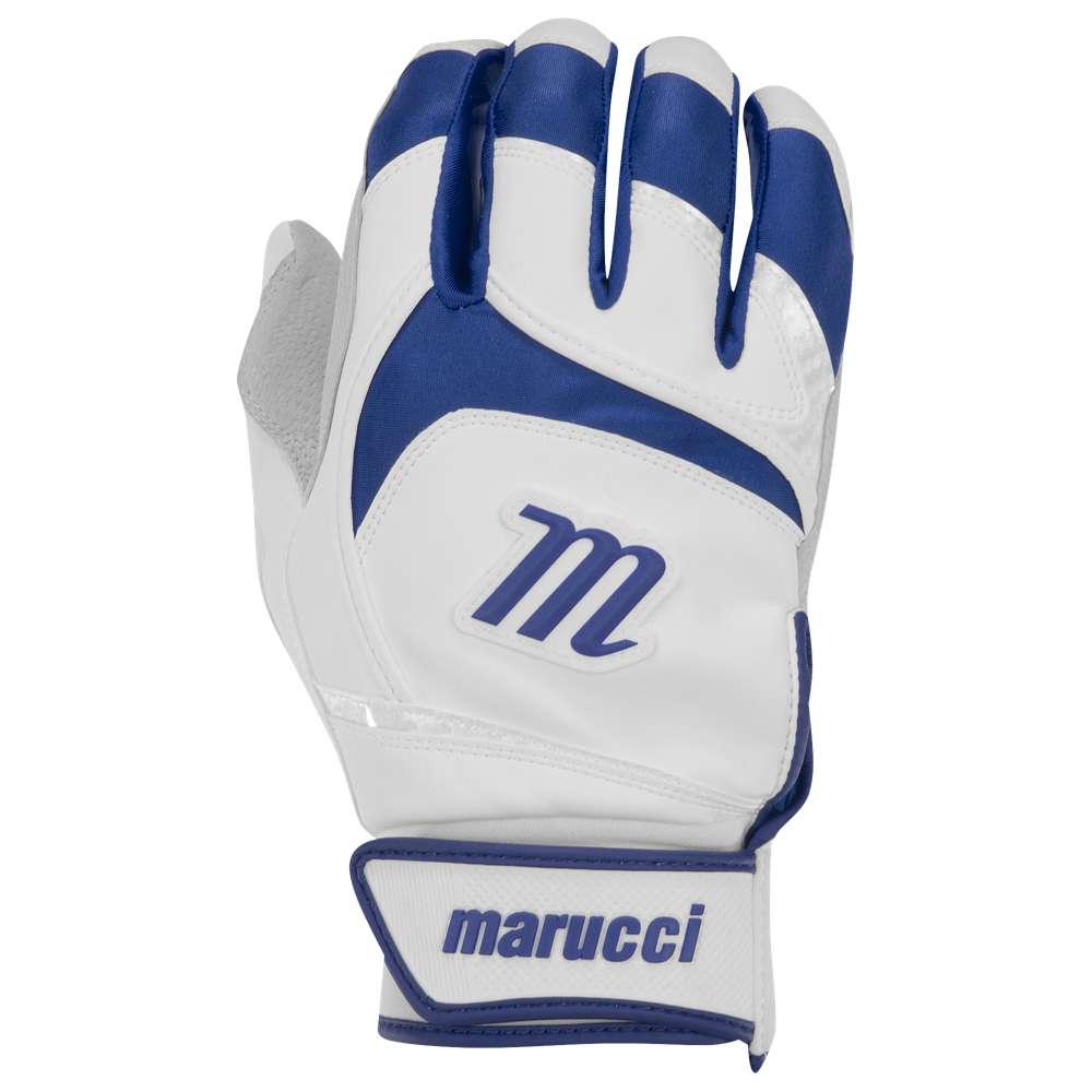 マルッチ メンズ 野球 グローブ【Signature Batting Gloves】White/Navy