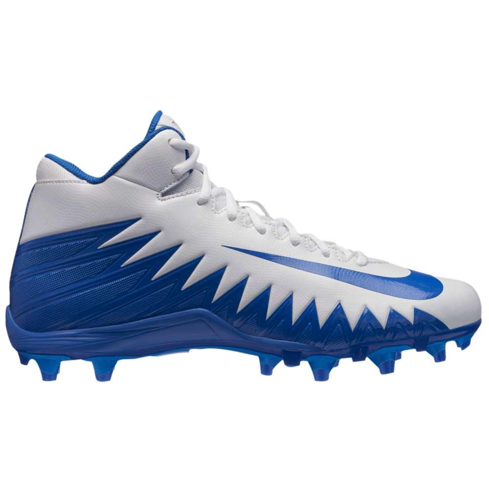 ナイキ メンズ アメリカンフットボール シューズ・靴【Alpha Menace Varsity Mid】White/Game Royal/Photo Blue