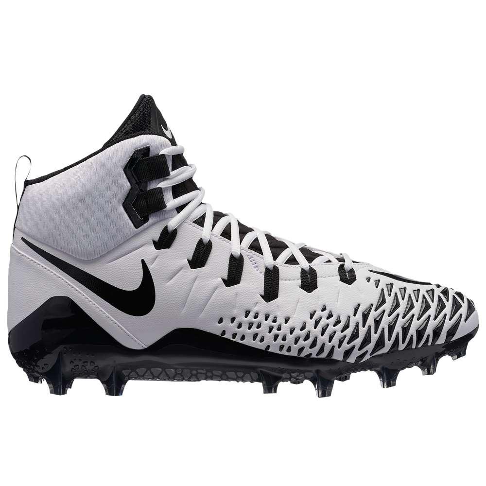ナイキ メンズ アメリカンフットボール シューズ・靴【Force Savage Pro】White/Black/White/Black