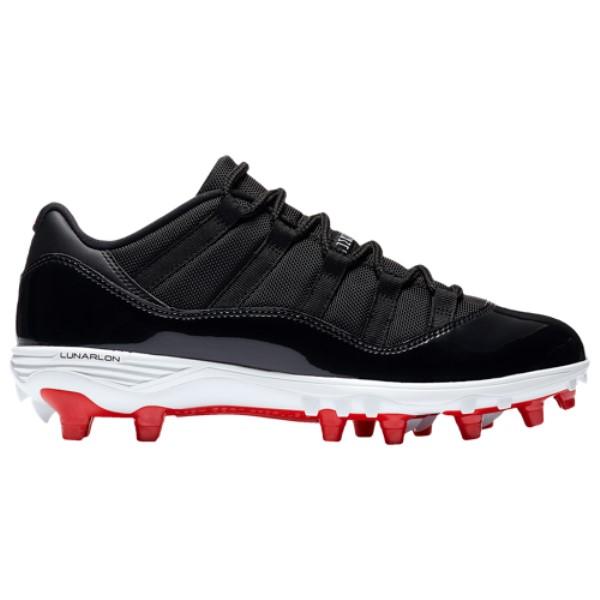 ナイキ ジョーダン メンズ アメリカンフットボール シューズ・靴【Retro 11 Low TD】Black/University Red/White