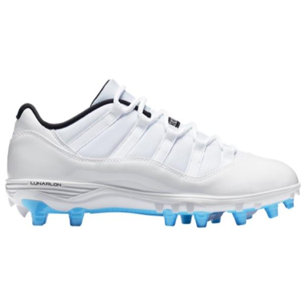 ナイキ ジョーダン メンズ アメリカンフットボール シューズ・靴【Retro 11 Low TD】White/University Blue/Black