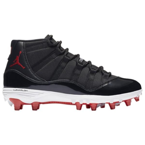 ナイキ ジョーダン メンズ アメリカンフットボール シューズ・靴【Retro 11 TD】Black/University Red/White
