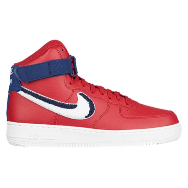 【大特価!!】 ナイキ メンズ メンズ バスケットボール シューズ・靴【Air Force 1 Red/White/Blue High High LV8】Gym Red/White/Blue Void/White, アンナドアーズショップ:8884aaff --- canoncity.azurewebsites.net