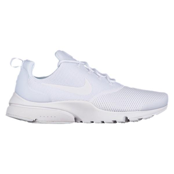 ナイキ メンズ ランニング・ウォーキング シューズ・靴【Presto Fly】White/White/White