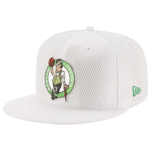 ニューエラ メンズ 帽子 キャップ【NBA 59Fifty On Court Cap】White