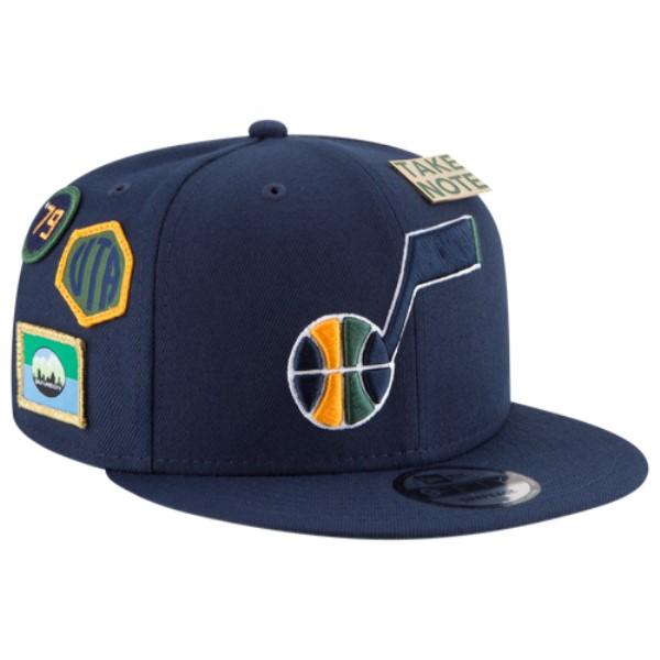 ニューエラ メンズ 帽子 キャップ【NBA 9Fifty On Stage Cap】Navy