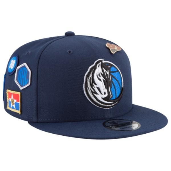 ニューエラ メンズ 帽子 キャップ【NBA 9Fifty On Stage Cap】Blue