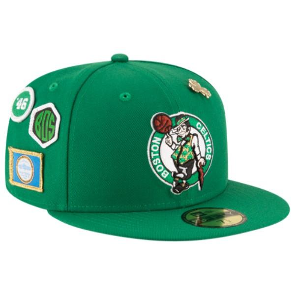 ニューエラ メンズ 帽子 キャップ【NBA 59Fifty On Stage Cap】Green