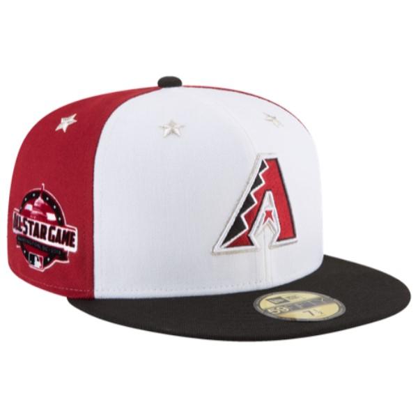 ニューエラ メンズ 帽子 キャップ【MLB 59Fifty All-Star Game Cap】Red