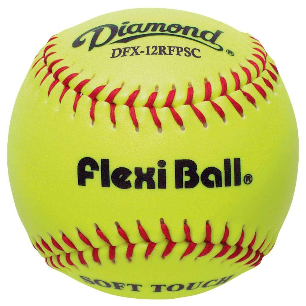 ダイアモンド メンズ 野球 ボール【FlexiBall Fastpitch Softballs】