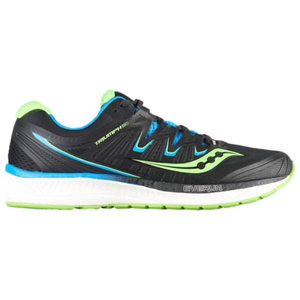 サッカニー メンズ ランニング・ウォーキング シューズ・靴【Triumph ISO 4】Black/Slime/Blue