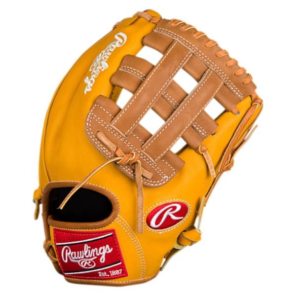 ローリングス メンズ 野球 グローブ【Heart of the Hide Fielder's Glove】Gold Tan/Brown