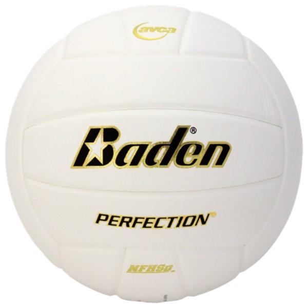 バーデン ユニセックス バレーボール ボール【Team Perfection Leather Volleyball】White