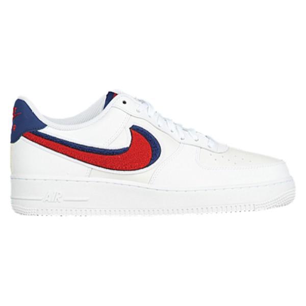 ナイキ メンズ バスケットボール シューズ・靴【Air Force 1 LV8】White/University Red/Blue Void