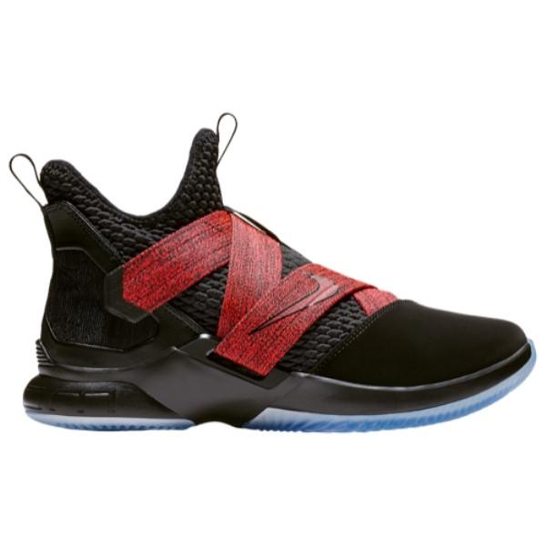 ナイキ メンズ バスケットボール シューズ・靴【LeBron Soldier XII】Black/Black