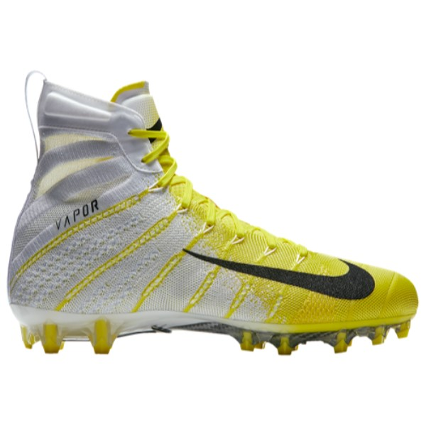 ナイキ メンズ アメリカンフットボール シューズ・靴【Vapor Untouchable 3 Elite】White/Black/Dynamic Yellow/Dynamic Yellow/Black