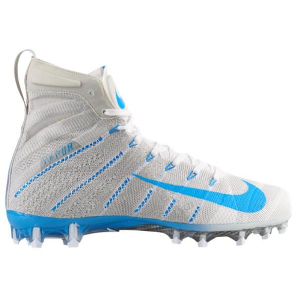 ナイキ メンズ アメリカンフットボール シューズ・靴【Vapor Untouchable 3 Elite】White/Blue Hero/Light Bone/Photo Blue