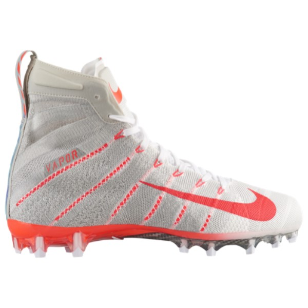 ナイキ メンズ アメリカンフットボール シューズ・靴【Vapor Untouchable 3 Elite】White/Bright Crimson/Light Bone/Bright Crimson