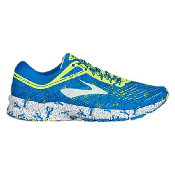 ブルックス メンズ ランニング・ウォーキング シューズ・靴【Launch 5】Boston Blue/Nightlife/White