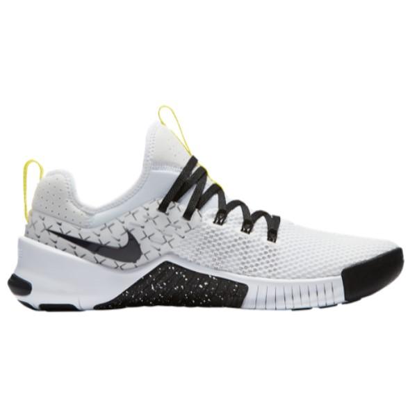 ナイキ メンズ フィットネス・トレーニング シューズ・靴【Free x Metcon】White/Black/Dynamic Yellow