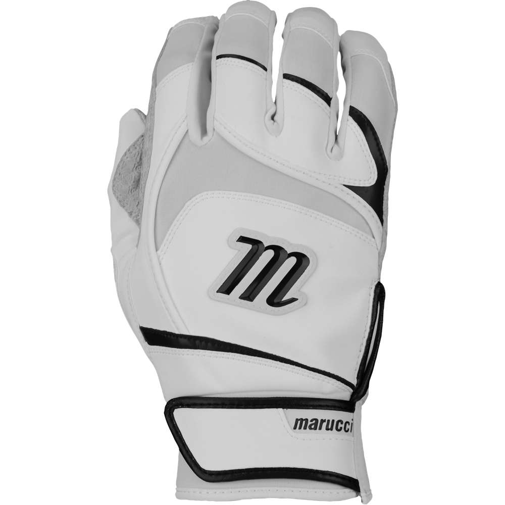 マルッチ メンズ 野球 グローブ【Pittards Signature Batting Gloves】White/Black