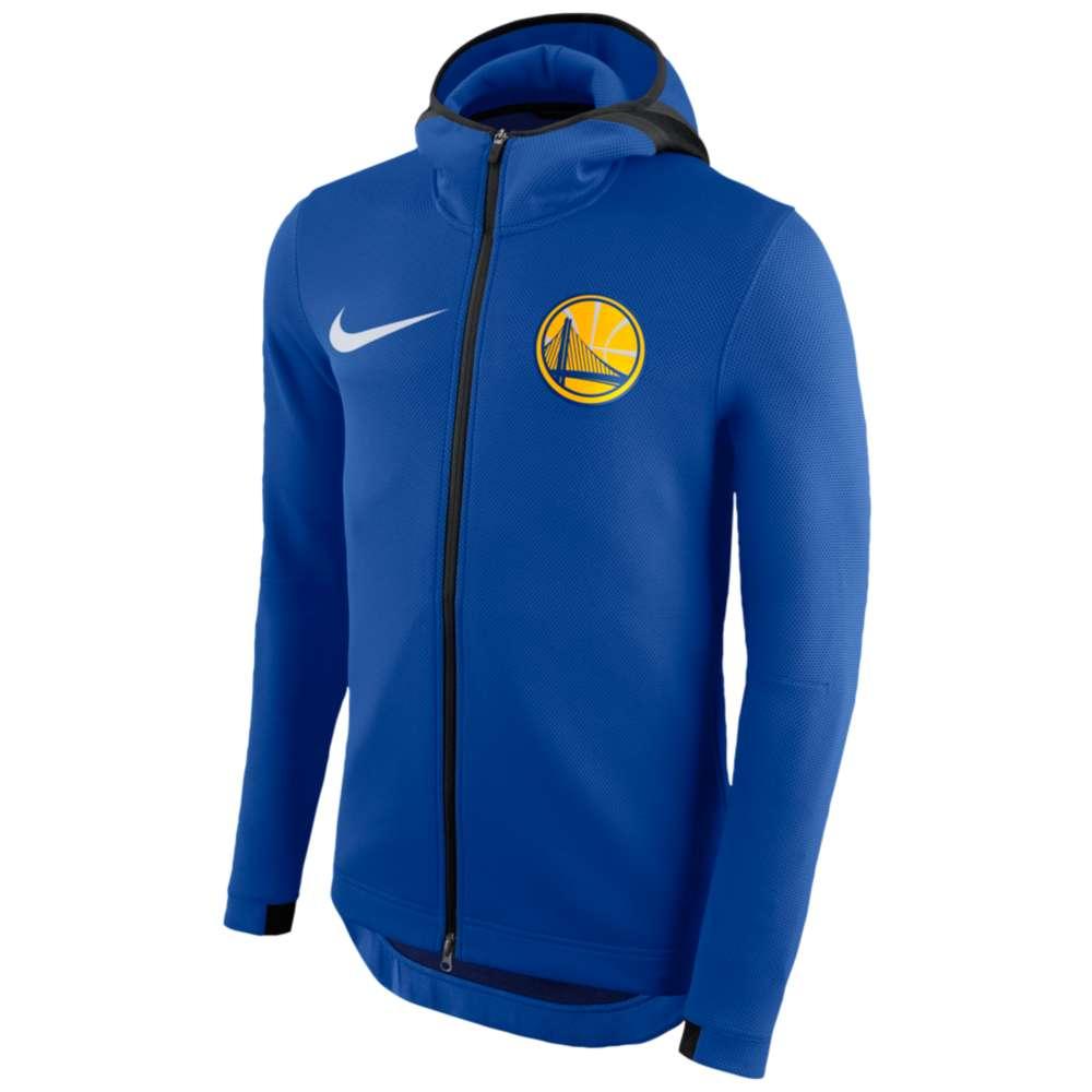 ナイキ メンズ トップス パーカー【NBA Player Showtime Therma Full-Zip Hoodie】Blue