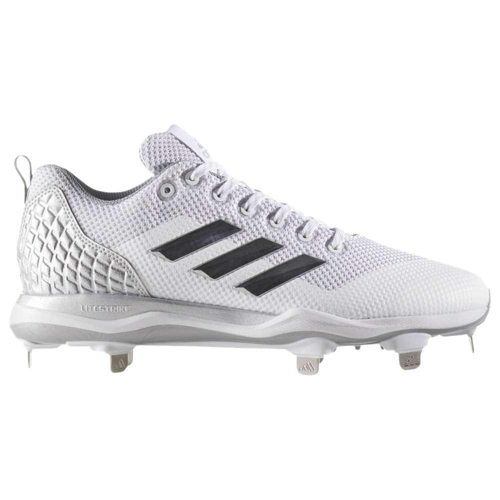 アディダス メンズ 野球 シューズ・靴【Poweralley 5】White/Carbon