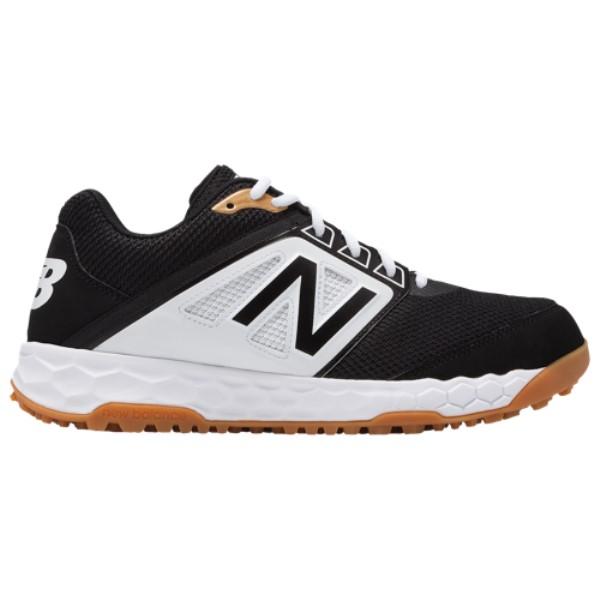 ニューバランス メンズ 野球 シューズ・靴【3000v4 Turf】Black/White/Gum