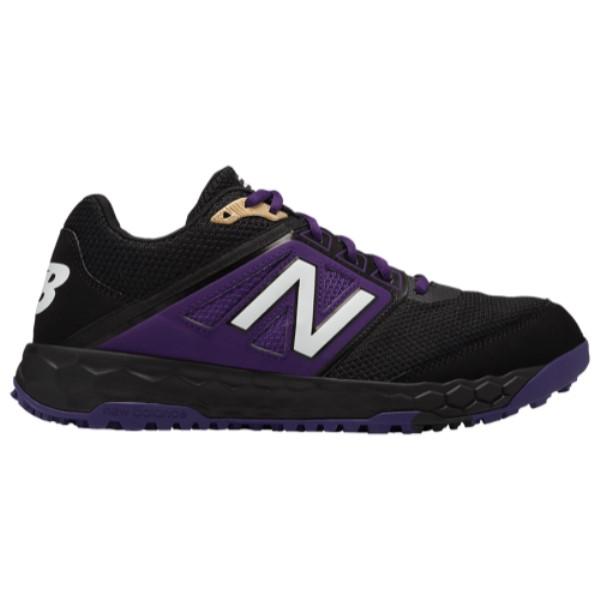ニューバランス メンズ 野球 シューズ・靴【3000v4 Turf】Black/Purple