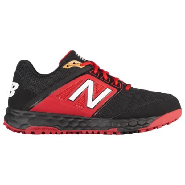 ニューバランス メンズ 野球 シューズ・靴【3000v4 Turf】Black/Red