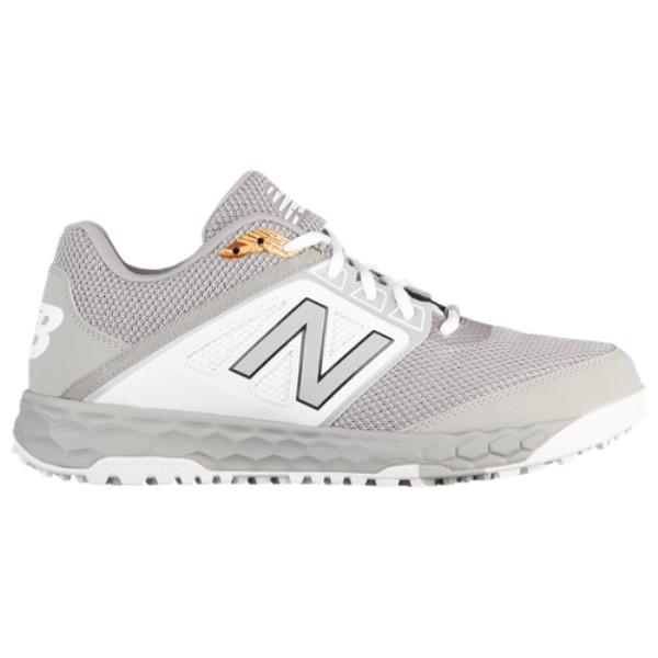 ニューバランス メンズ 野球 シューズ・靴【3000v4 Turf】Grey/White