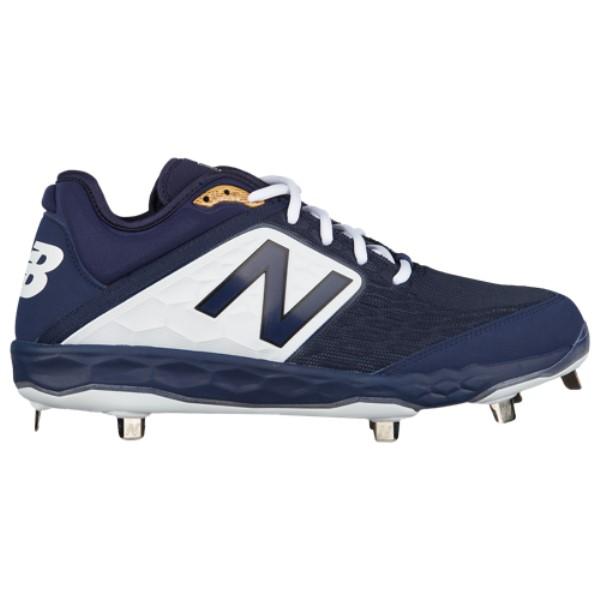 ニューバランス メンズ 野球 シューズ・靴【3000v4 Metal Low】Navy/White