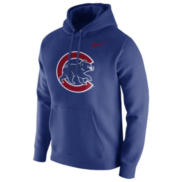 ナイキ メンズ トップス フリース【MLB Club Fleece Logo Hoodie】Blue