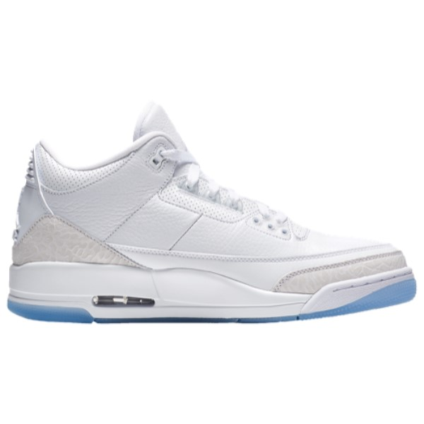 ナイキ ジョーダン メンズ バスケットボール シューズ・靴【Retro 3】White/White/White