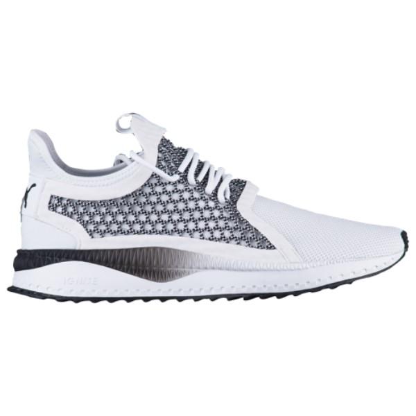 プーマ メンズ ランニング・ウォーキング シューズ・靴【Tsugi Netfit V2】White/Black