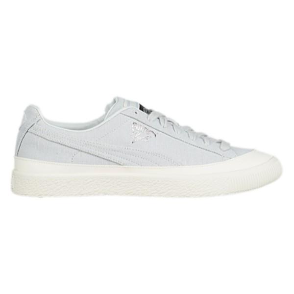 プーマ メンズ バスケットボール シューズ・靴【Clyde】Glacier Grey/White